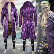 Joker Costume Halloween Squad Jared Leto Joker Costume Halloween Cosplay Costume