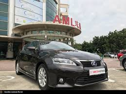 lexus used buy buy used toyota lexus ct200h auto premium car in singapore 79 800