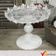 cake stands wholesale wholesale shabby chic vintage white metal wedding cake stand buy