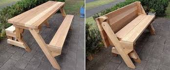 How To Build A Wooden Picnic Table by 50 Free Diy Picnic Table Plans For Kids And Adults
