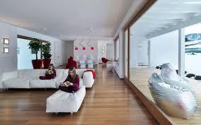 Modern Living Room In Italian House Interior Design - Modern italian interior design