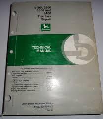 john deere 9100 9200 9300 9400 tractor technical service shop