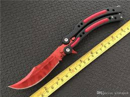 folded steel kitchen knives cs go butterfly knife cross 440c steel clip point plain sharp