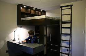 mezzanine ado bureau lit mezzanine ado design cool affordable chambre fille deco