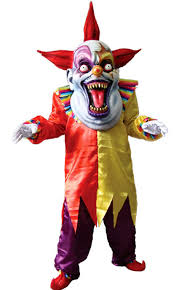 scary clown costumes men s evil clown costume costumes