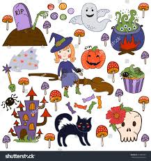 free halloween clipart witch cauldron set illustrations halloween brightest witch cauldron stock vector