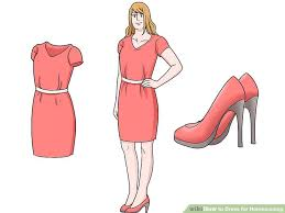 for homecoming 4 ways to dress for homecoming wikihow