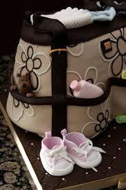 206 best hand bag and stork party cakes images on pinterest