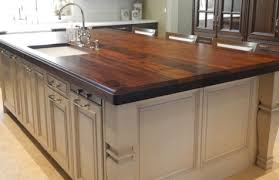 walnut kitchen island custom wood countertops islands slab tables bar tops