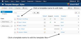 edit html template j3 x modifying a joomla template joomla documentation