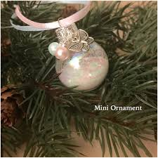 infant loss christmas ornaments memorial ornament christmas ornament in by soulcystercreations