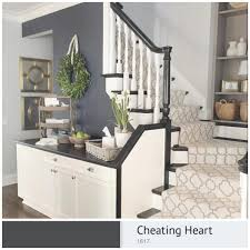 Foyer Paint Color Ideas by Benjamin Moore Cheating Heart 1617 Livingwithlandyn Paint