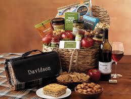 date basket ideas picnic gift baskets date ideas harry david field notes