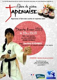 cours de cuisine loire atlantique stage de cuisine japonaise karaté pazenaiskaraté pazenais