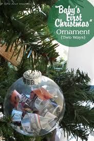 diy baby s ornaments dove