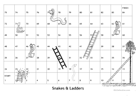 22 free esl snakes and ladders worksheets