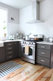 Range In Island Kitchen by Kitchen Cabinets White Cabinets With Butcher Block Countertop