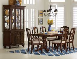 alice 7 piece dining room set cherry leon u0027s