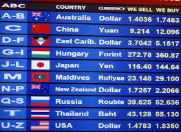 compare bureau de change exchange rates exchange rate the sloman economics site