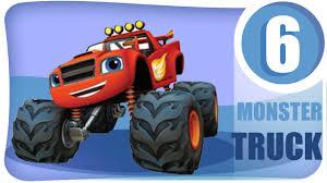 monster truck racing 3d car cartoon monster truck garbage truck fire truck racing