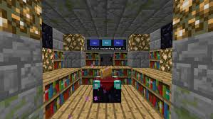 enchanting table bookshelf controller computercraft