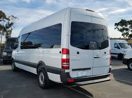 2016 new mercedes benz sprinter passenger vans rwd 2500 170