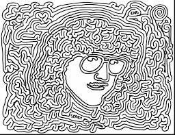 awesome coloring page trippy drawings with psychedelic coloring