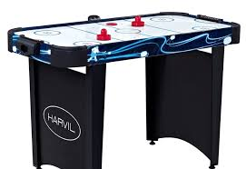 air hockey table reviews harvil air hockey table with electronic scoring airhockeyplace com