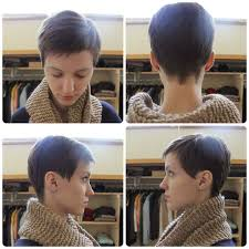 front and back pictures of short hairstyles for gray hair very short haircuts front and back view life style by