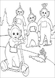 30 teletubbies images coloring pictures