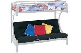 White Futon Bunk Bed Bunk Beds Futon Bunk Bed Wood Loft Beds The Futon Shop