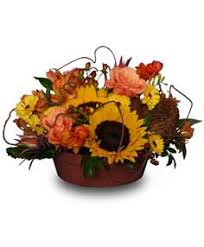 Sunflower Centerpieces Thanksgiving Flowers U2013 A Style For Everyone