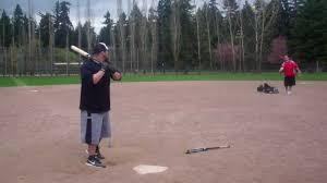 demarini corndog softball bat dale brungardt hitting the demarini corn dog