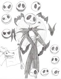 jack skeleton halloween jack skeleton and zero by missakura on deviantart