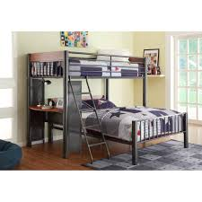 Twin Loft Bed With Desk Underneath Bunk Bed With Desk Underneath For Adults Best Home Furniture