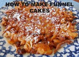 how to make funnel cakes the southern lady cooks