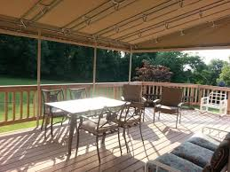 Shade Awnings For Decks Stationary Awning Installation Chester County Milanese Remodeling