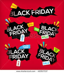 black friday banner set black friday sale vector illustration stock vector 511048384