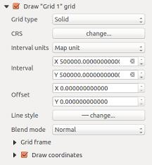 qgis layout mode print composer
