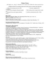 Entry Level Accounting Resume Examples by Entry Level Accounting Resume Sample I19 Jpg
