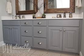Painting Bathroom Vanity Fabulous Painting Bathroom Cabinets Kitchen Diy Painting Bathroom