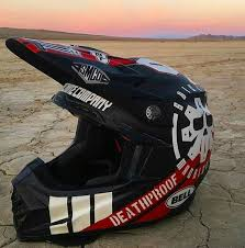 airbrushed motocross helmets badass motorcycle art with airtrix