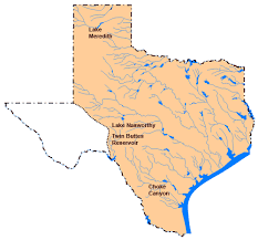 Texas lakes images Texas lakes and reservoirs gif