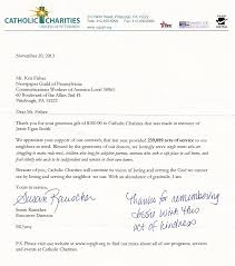thanksgiving note thank you note from catholic charities u2013 the newspaper guild of