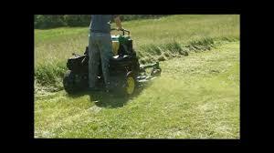 john deere 667a stander surf type commercial zero turn lawn mower