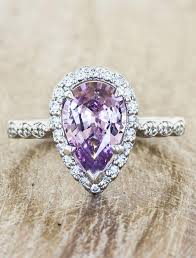 shaped rings images Jelissa pear shaped morganite engagement ring ken dana design jpg