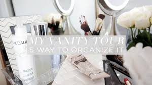 my vanity tour and organization chriselle lim youtube
