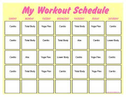 printable workout plan calendar 10 minute trainer calendar printable 10 20 minute workout
