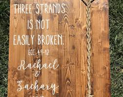 3 cords wedding ceremony a cord of three strands ecclesiastes 4 9 12 rustic white
