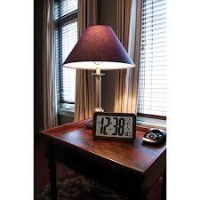 Atomic Home Decor by Marathon Atomic Digital Clock With Indoor Temperature Indicator